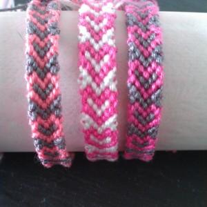 Freundschaftsarmband pink